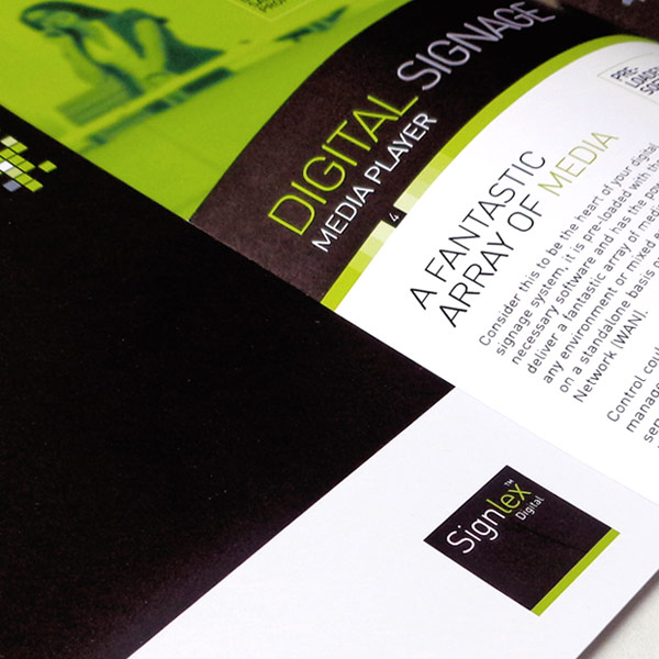 Company stationery and brochure design